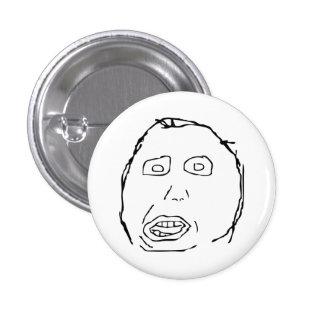 Herp Derp Idiot Rage Face Meme 3 Cm Round Badge