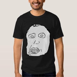Herp Derp Idiot Rage Face Meme T Shirt