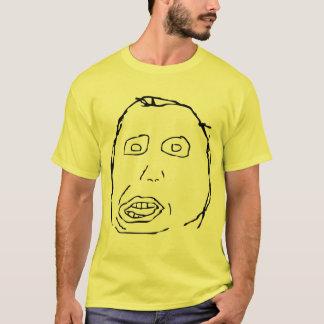 Herp Derp Idiot Rage Face Meme T-Shirt
