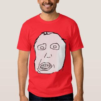 Herp Derp Idiot Rage Face Meme T-shirts