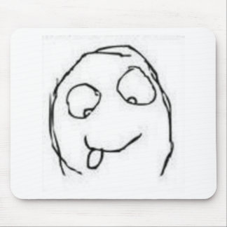 Herp Derp Rage Comic Mouse Pad