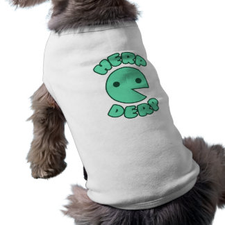 Herp Derp Sleeveless Dog Shirt