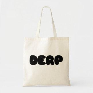Herp Derp Tote Bag