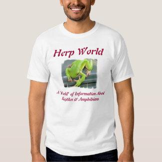Herp World Green Frog 2 T-Shirt