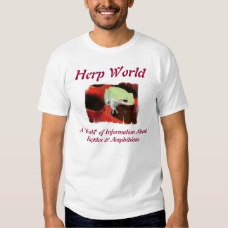 Herp World Green Frog T-Shirt