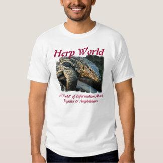 Herp World Monitor T-Shirt
