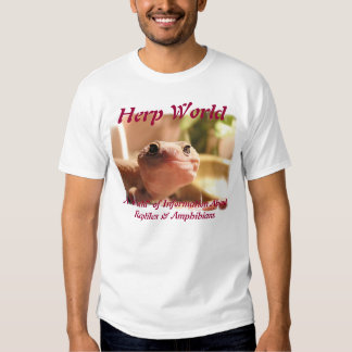 Herp World Smiling Gecko T-Shirt