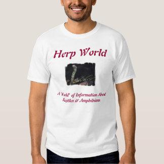 Herp World Snake 1 T-Shirt