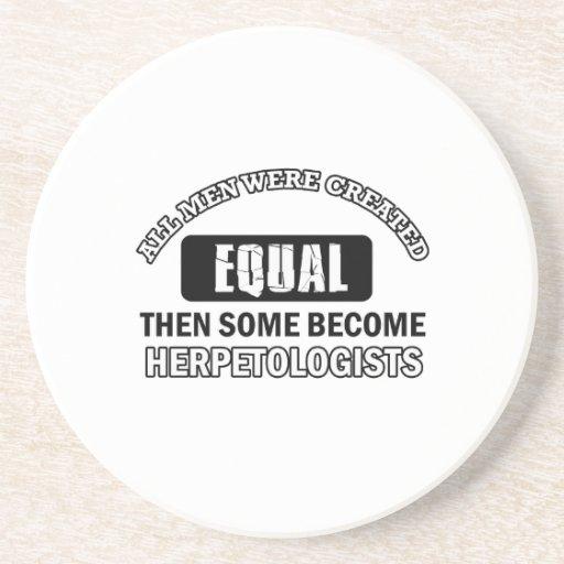 HERPETOLOGIST designs Beverage Coaster