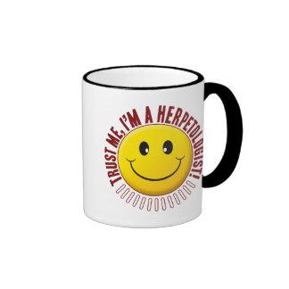 Herpetologist Trust Smiley Ringer Mug