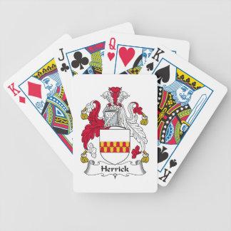Herrick Family Crest Card Decks