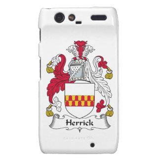 Herrick Family Crest Motorola Droid RAZR Covers