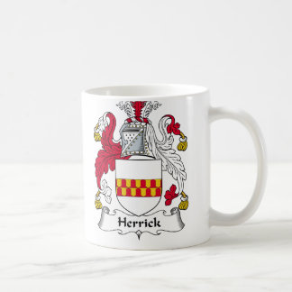 Herrick Family Crest Coffee Mug