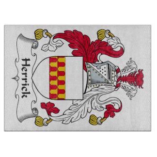 Herrick Family Crest Cutting Board