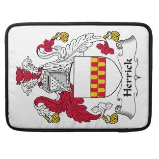 Herrick Family Crest Sleeve For MacBooks