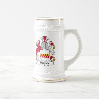 Herrick Family Crest Mug