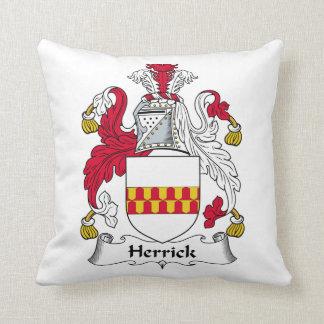 Herrick Family Crest Pillow