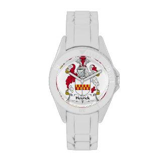 Herrick Family Crest Wristwatches