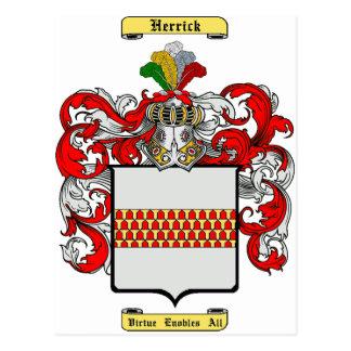 Herrick Postcard