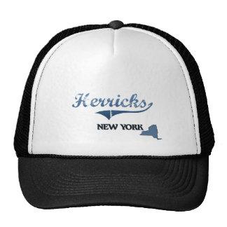 Herricks New York City Classic Mesh Hats
