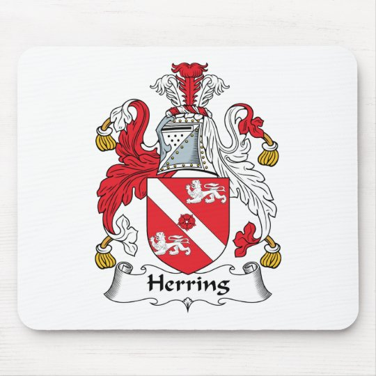 Herring Family Crest Mouse Mat