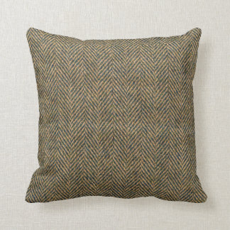 Herringbone Effect Pattern Throw Pillows