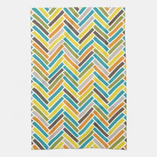 Herringbone Kitchen Towel | {Multi}