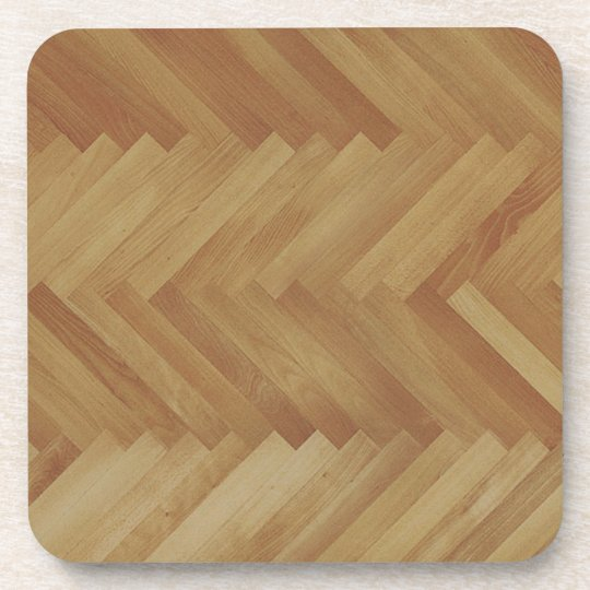 herringbone wood coasters