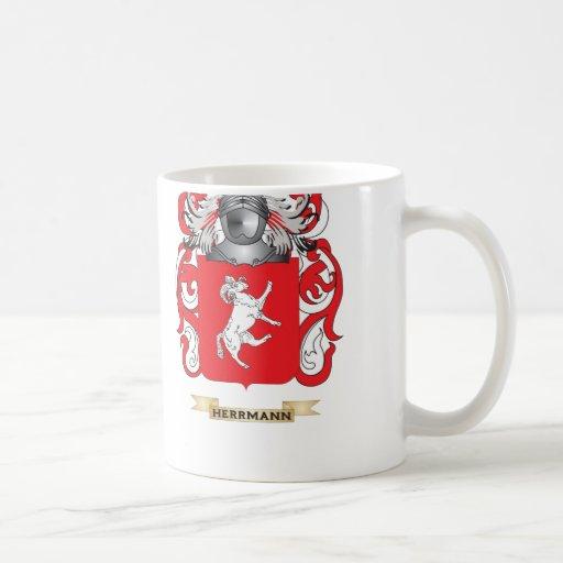 Herrmann Coat of Arms (Family Crest) Basic White Mug