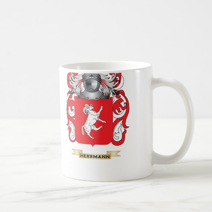 Herrmann Coat of Arms (Family Crest) Coffee Mug