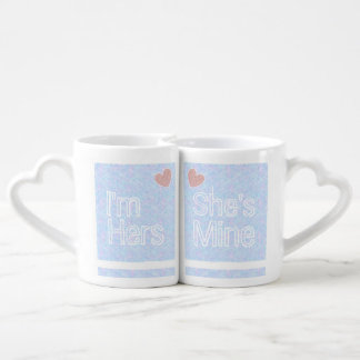 Hers and Hers Couples Mugs Set