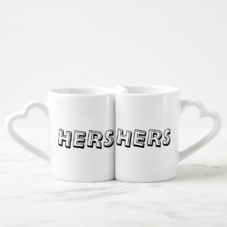 Hers & Hers Lovers Mug