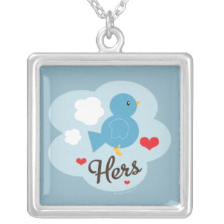 Hers Love Bird Necklace