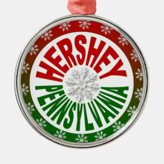 Hershey Pennsylvania holiday ornament
