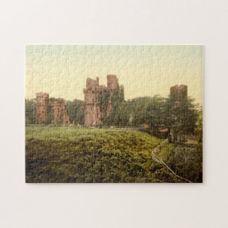 Herstmonceux Castle, Sussex, England Jigsaw Puzzle