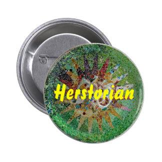 Herstorian 6 Cm Round Badge