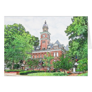 Hery County Courthouse Greeting Card
