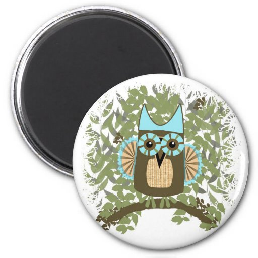 He's a Hoot 6 Cm Round Magnet