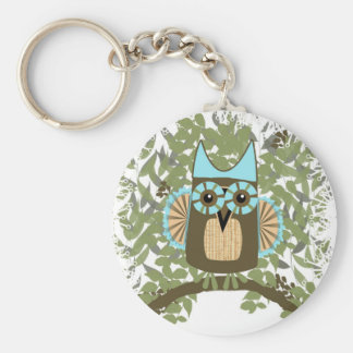 He's a Hoot Basic Round Button Key Ring