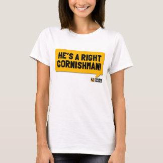 He's A Right Cornishman: A Cornish Soundboard T-Shirt