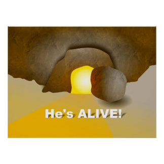 He's Alive! Poster