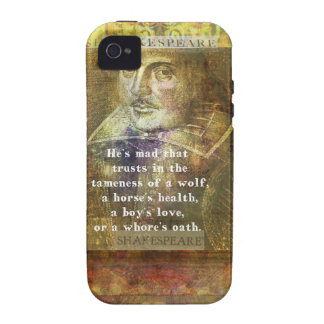 He's mad that trusts in the tameness of a wolf vibe iPhone 4 covers