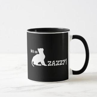 He's so Zazzy - Cat Lover Mug