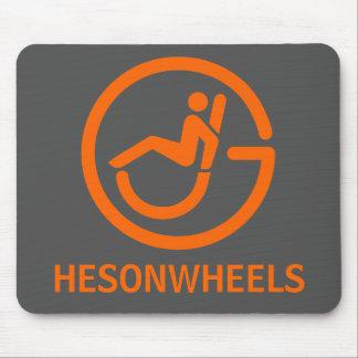 HESONWHEELS Mouse Pad