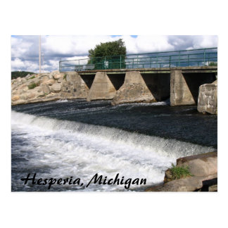 Hesperia Dam Postcard