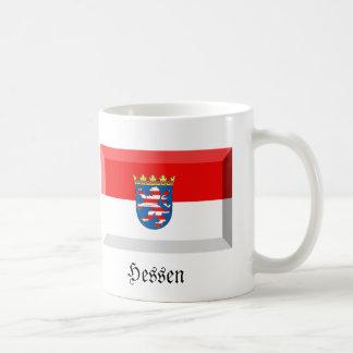 Hessen Flag Gem Basic White Mug