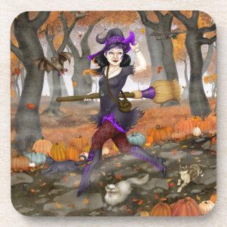 Hester s Autumn Adventure Beverage Coaster