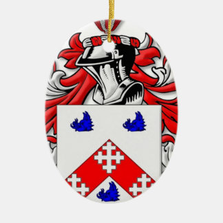 Heston Coat of Arms Christmas Ornaments