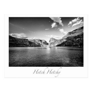 Hetch Hetchy Yosemite National Park Postcard