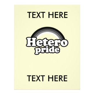HETERO PRIDE T-SHIRT FLYERS